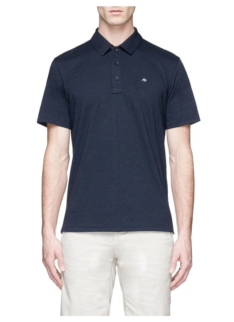 'Standard Issue' cotton jersey polo shirt