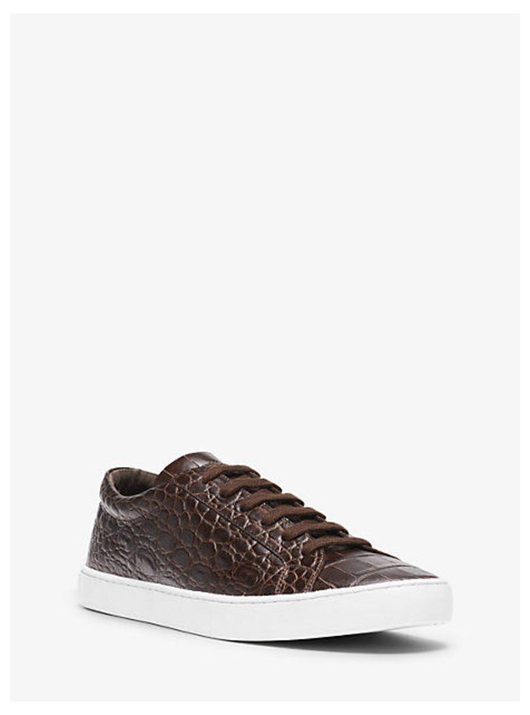 Jake Embossed-Leather Sneaker