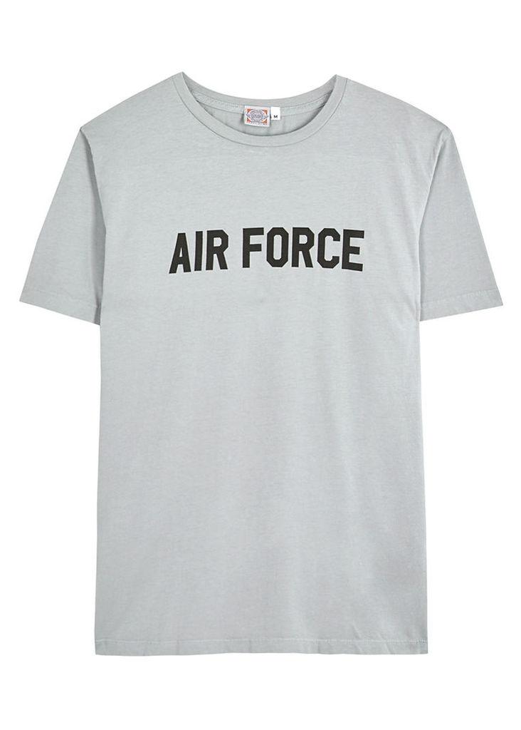 Air Force grey cotton T-shirt