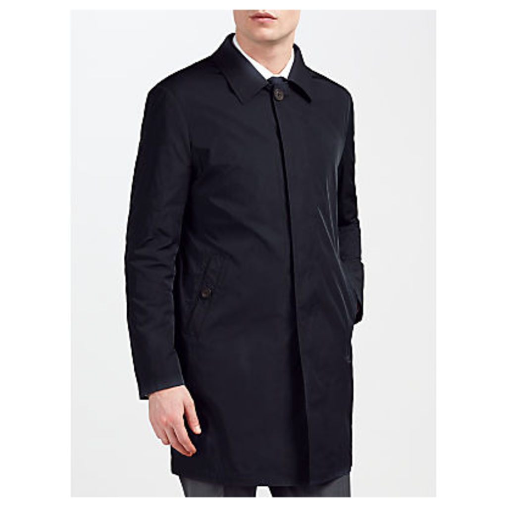 Guards of London Unlined Water Resistant Tailored Mac, Navy