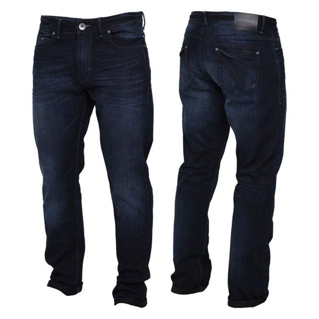MISH MASH Mish Clark Five Pocket Mens Loose Jeans