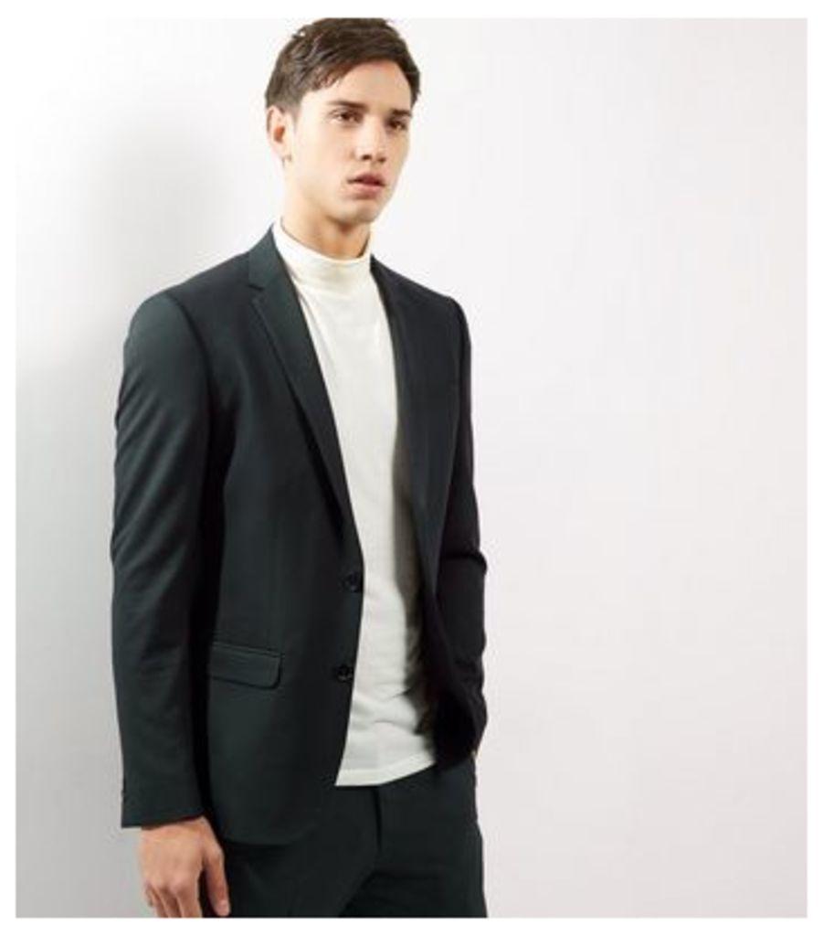 Dark Green Suit Jacket