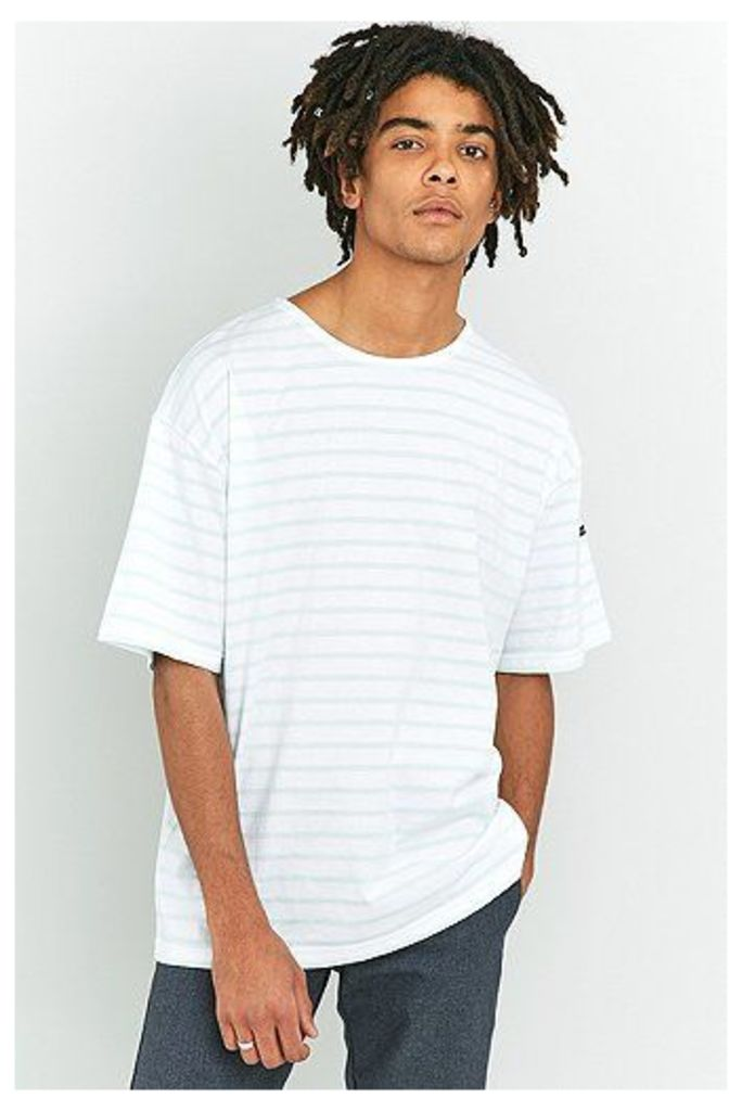Armor Lux Classic Mint and White Striped T-shirt, Mint