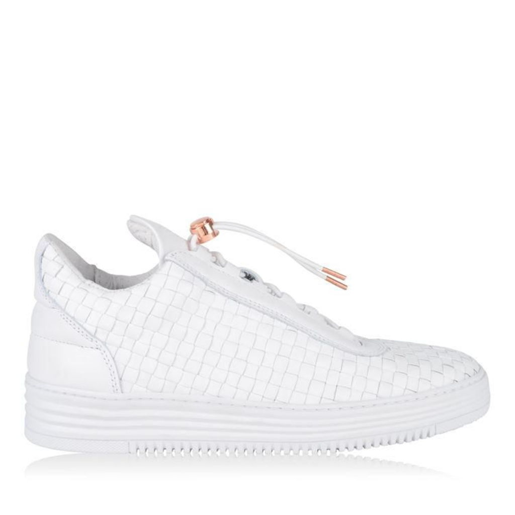 FILLING PIECES Low Top Woven Trainers
