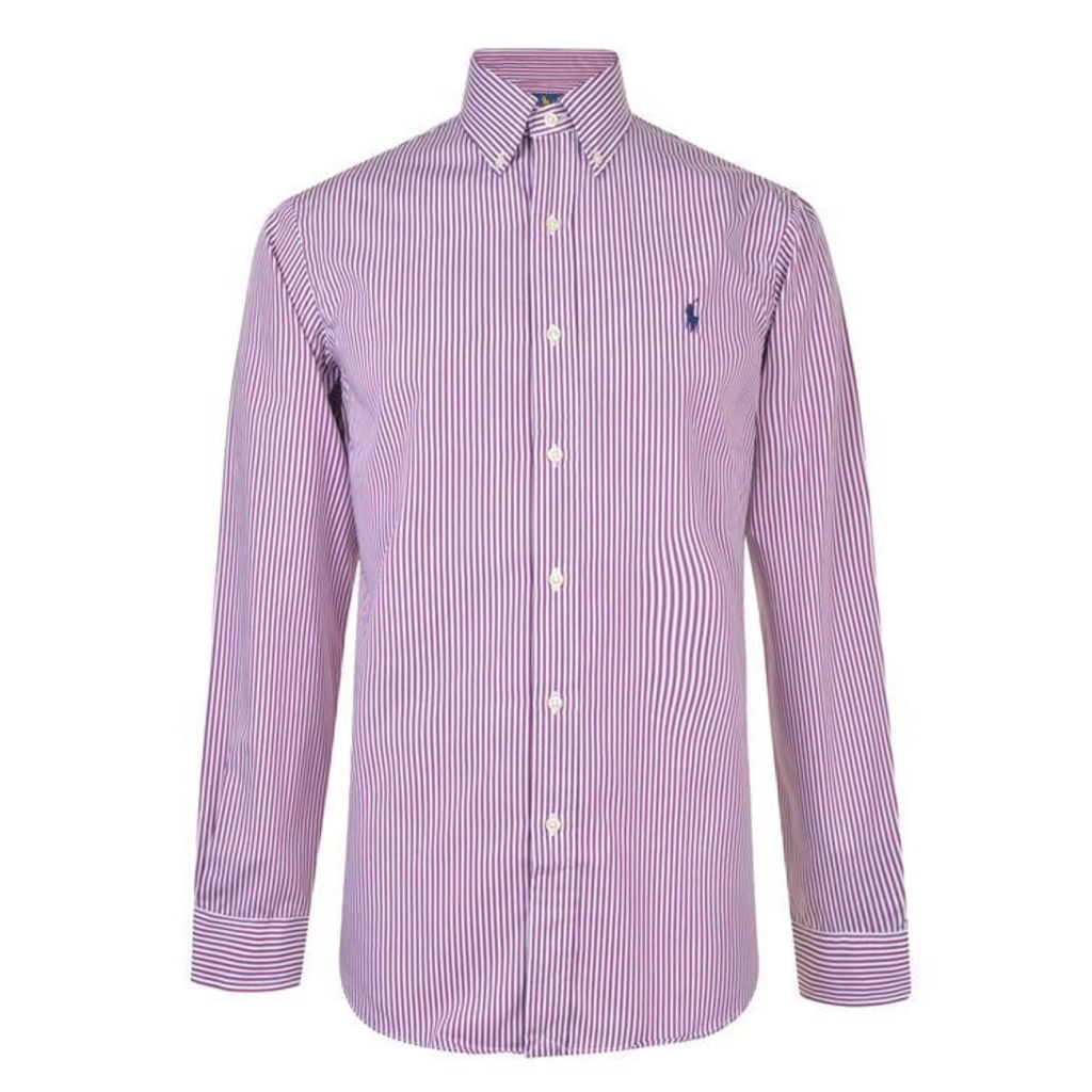 POLO RALPH LAUREN Striped Embroidery Shirt