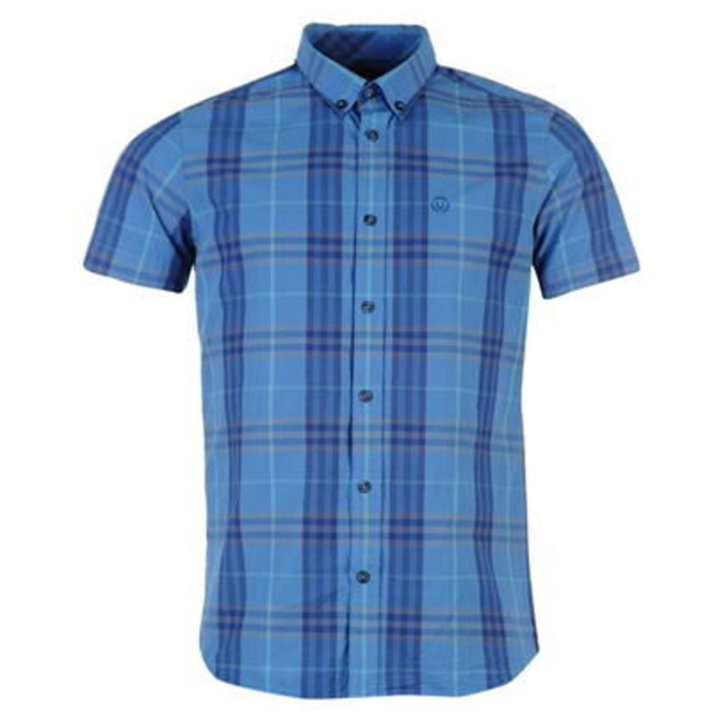 Duck and Cover Hart Check Short Sleeve Shirt