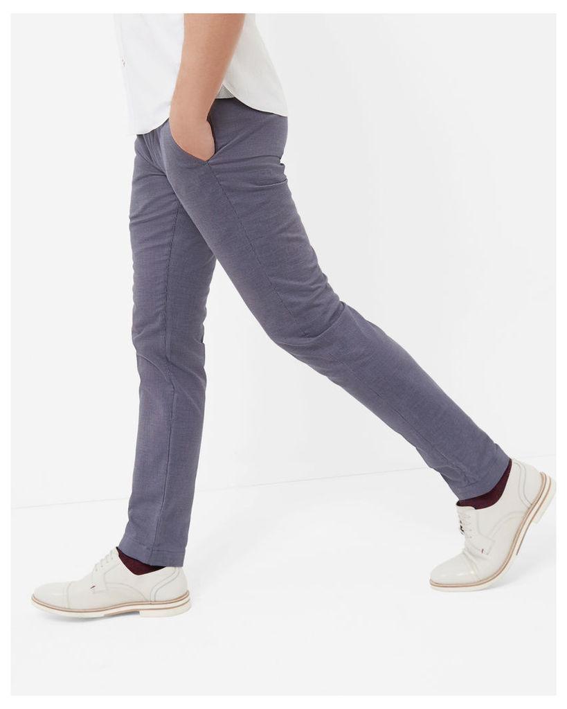 Ted Baker Mini design cotton trousers Blue