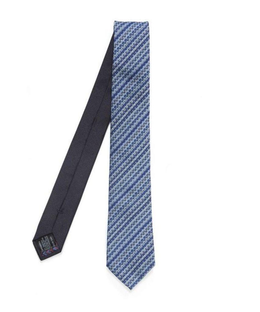 Irregular Zig Zag Tie