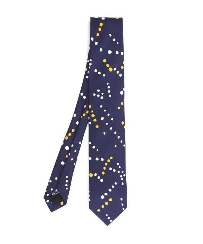 Painted Spot Print Tie