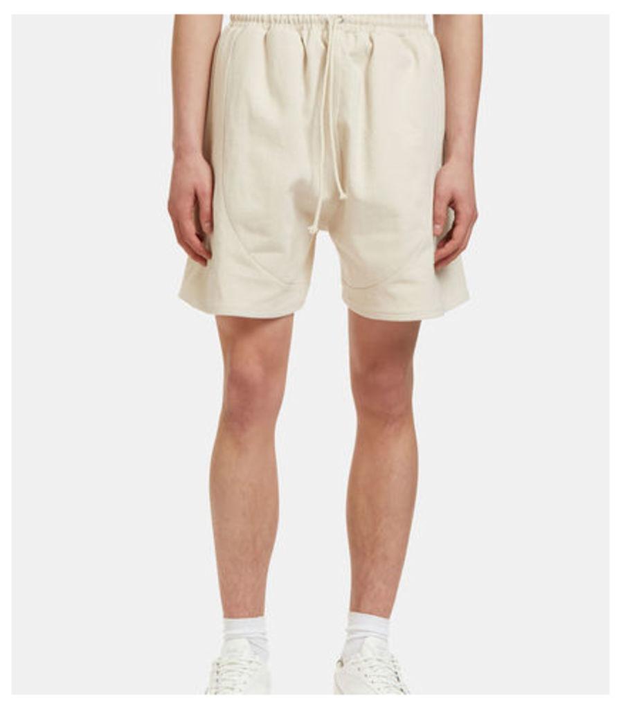 Men's Football Shorts in Off-White