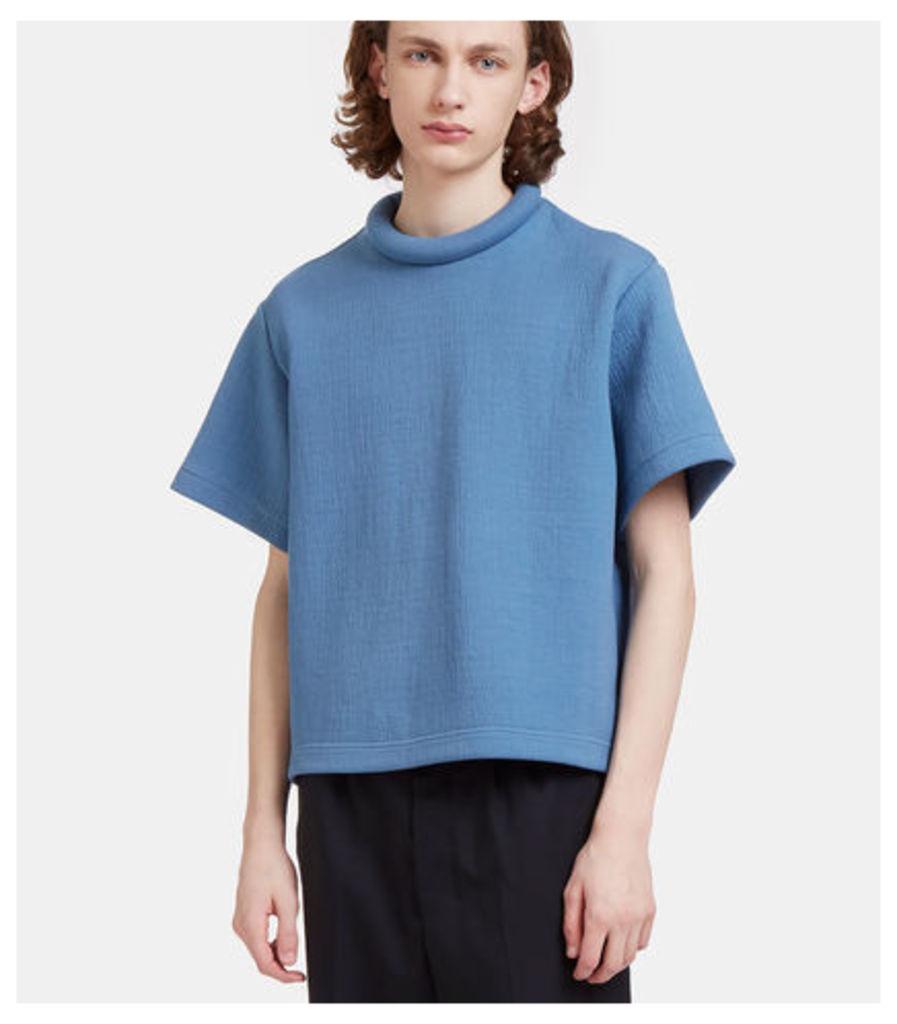 Rufus Textured Padded Ring Collar T-Shirt