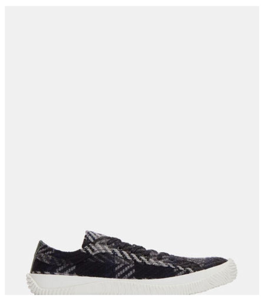 Icon Woven Chevron Low-Top Sneakers