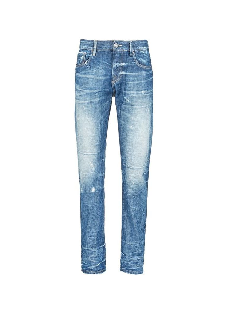 Lot 22 Vernon' distressed jeans