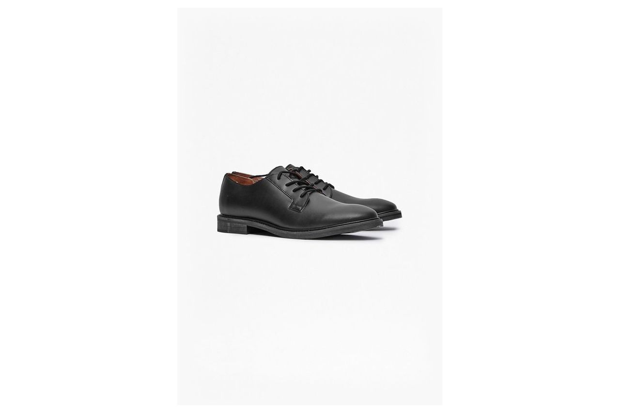 Cameron Leather Formal Shoes - black