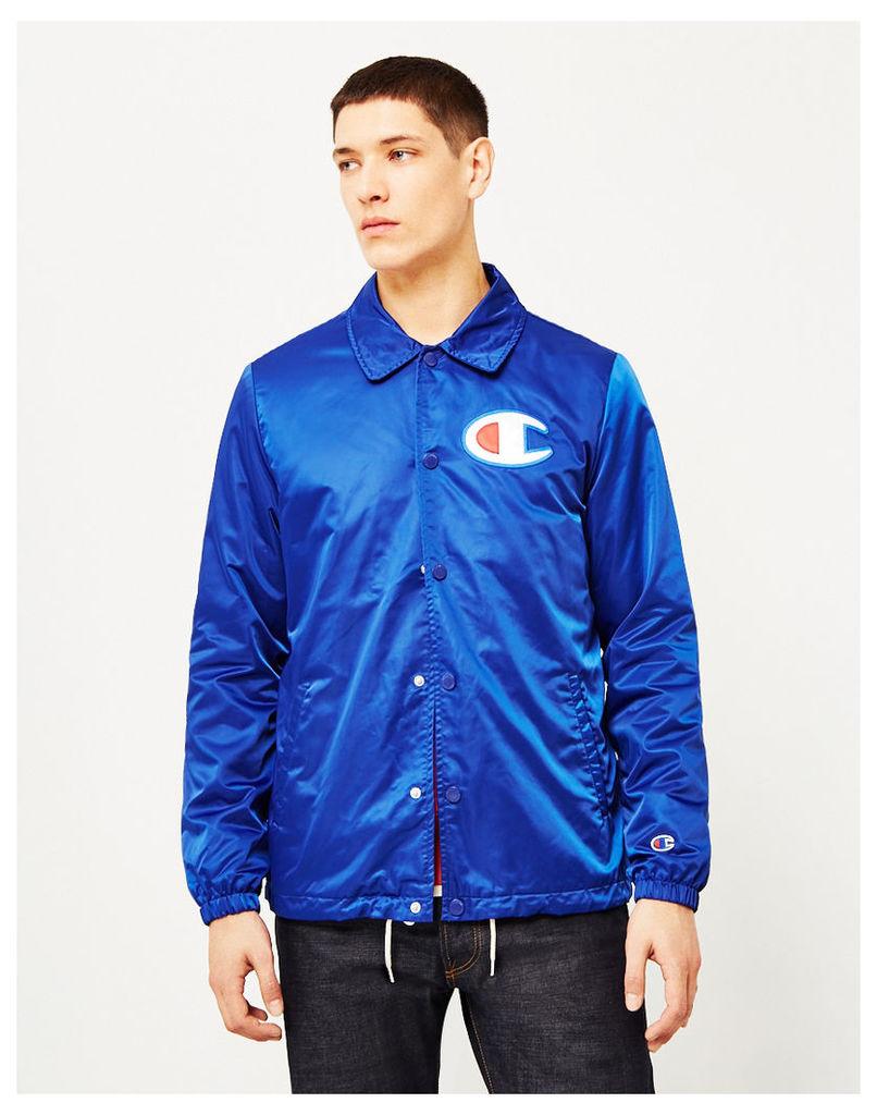 Champion Coach Jacket Blue