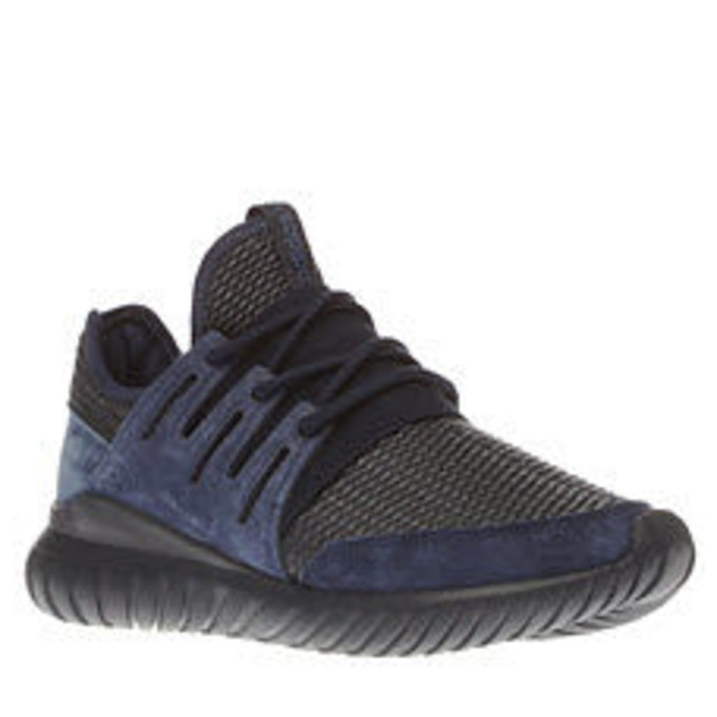 Adidas Navy Tubular Radial Mens Trainers