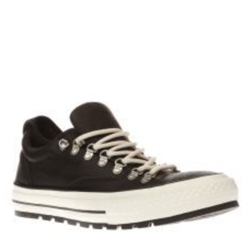 Converse Black Chuck Taylor All Star Descent Mens Trainers