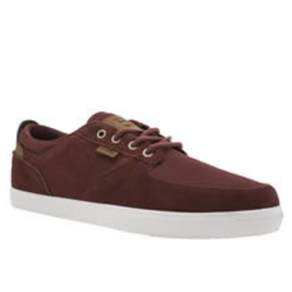 Etnies Burgundy Hitch Mens Trainers