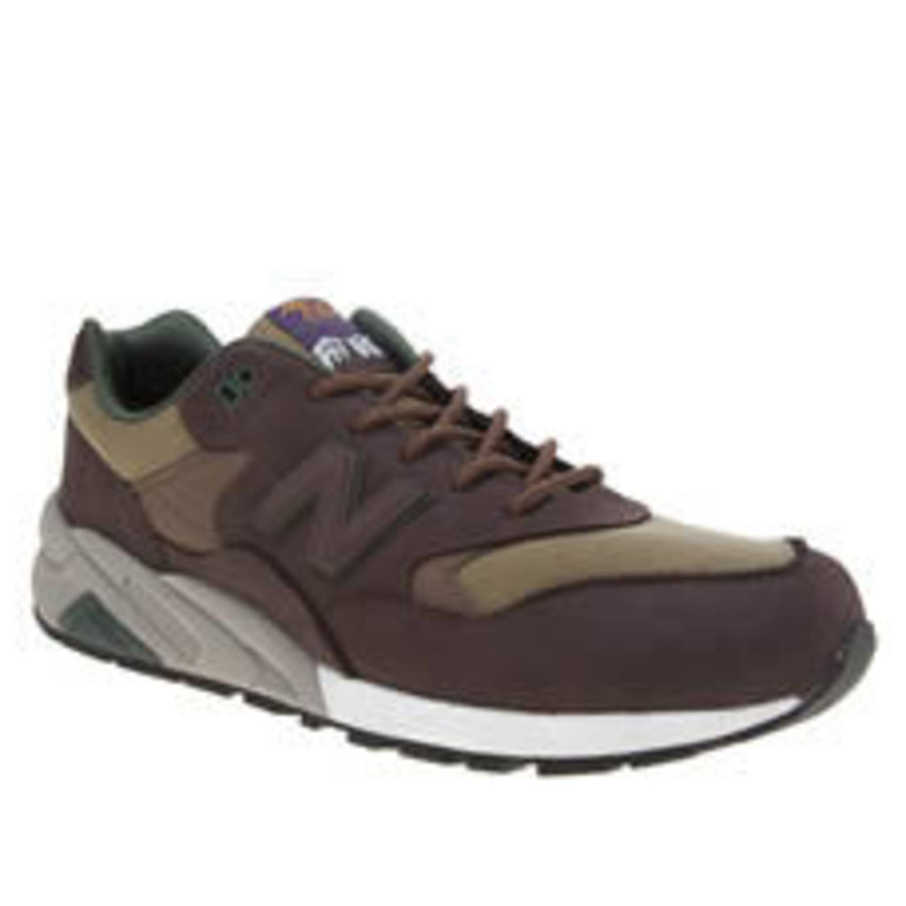 New Balance Brown 580 Mens Trainers