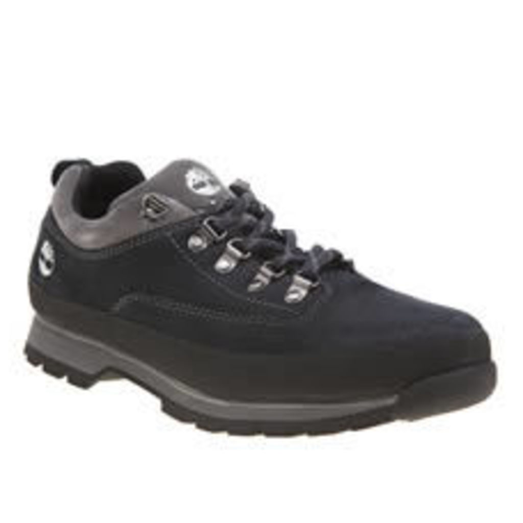 Timberland Navy Euro Hiker Low Mens Shoes
