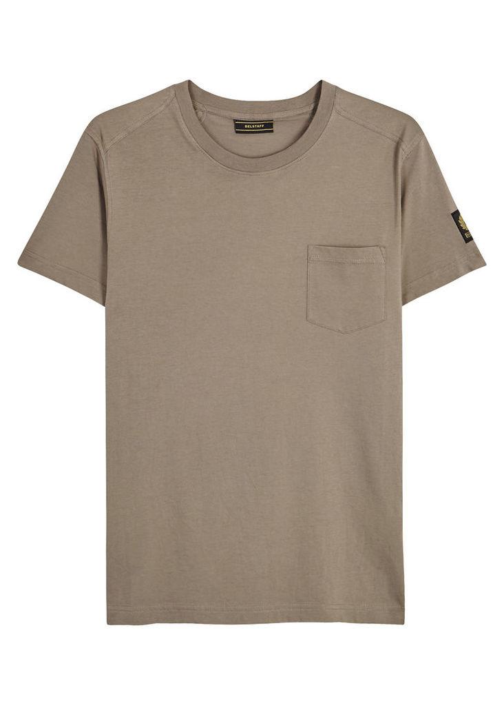 Thom taupe cotton T-shirt