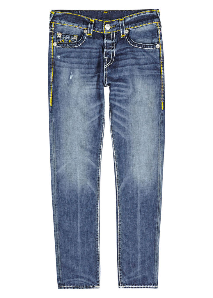 Rocco Super T blue straight-leg jeans