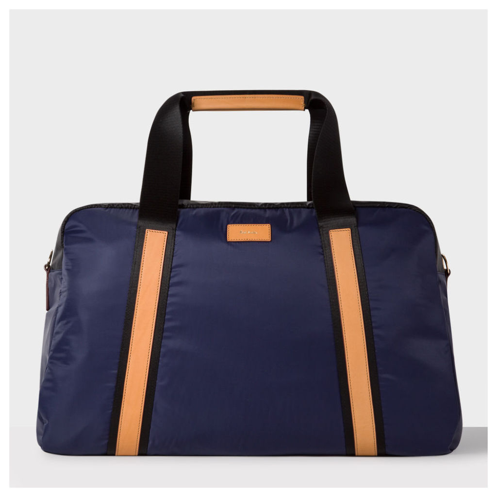 Men's Black And Blue Holdall