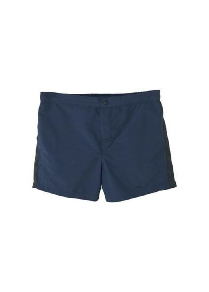 Contrasting trims swimsuit