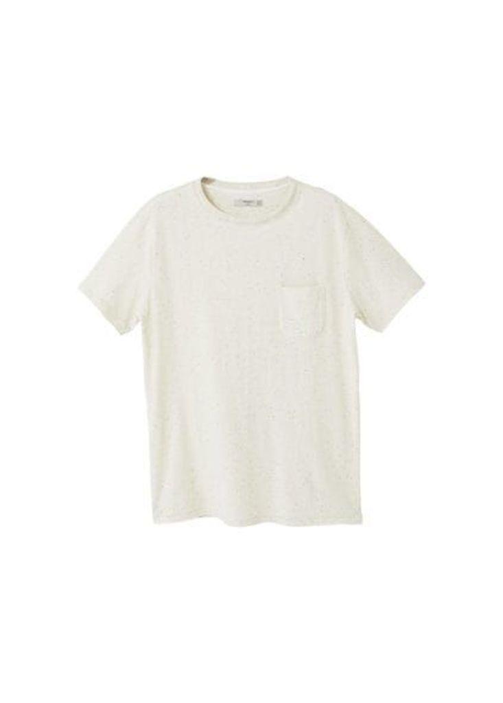 Pocket cotton t-shirt