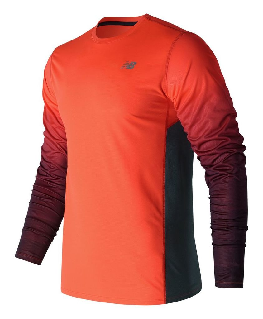 New Balance Accelerate Graphic Long Sleeve Men's Performance MT71065AO
