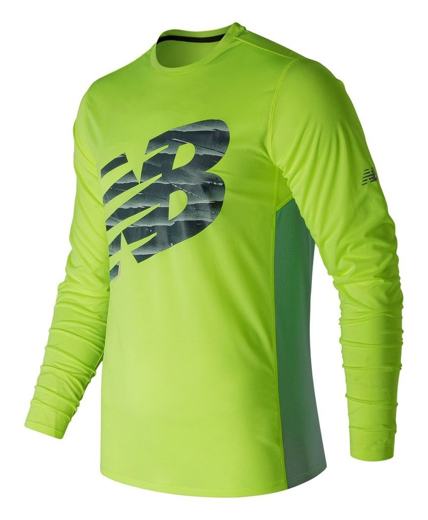New Balance Accelerate Graphic Long Sleeve Men's Performance MT71065HIL