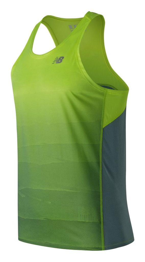 New Balance Accelerate Graphic Singlet Men's Performance MT71067HLP