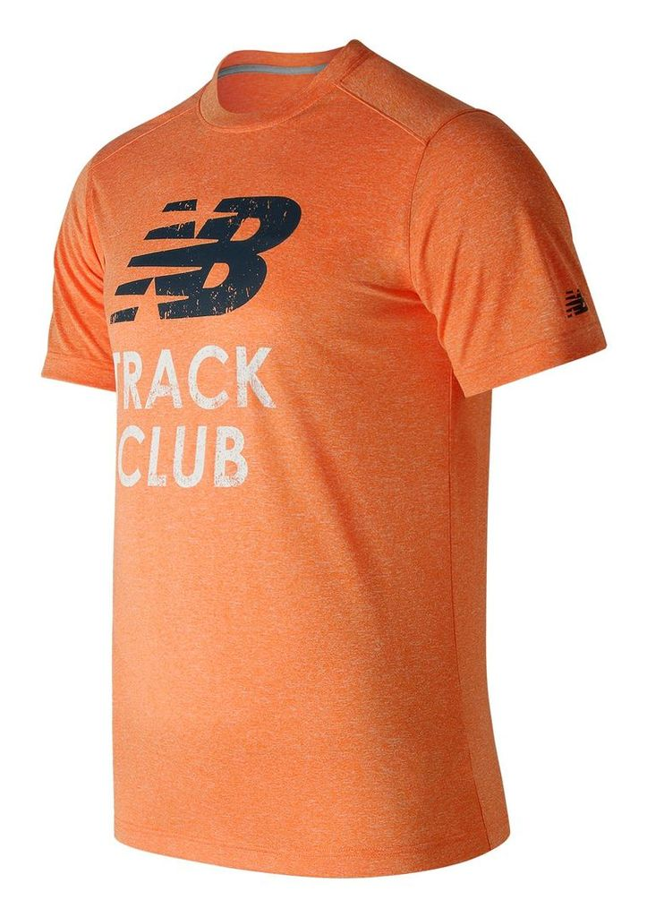 New Balance Heather Graphic Tee Men's Casual MT71091AOH