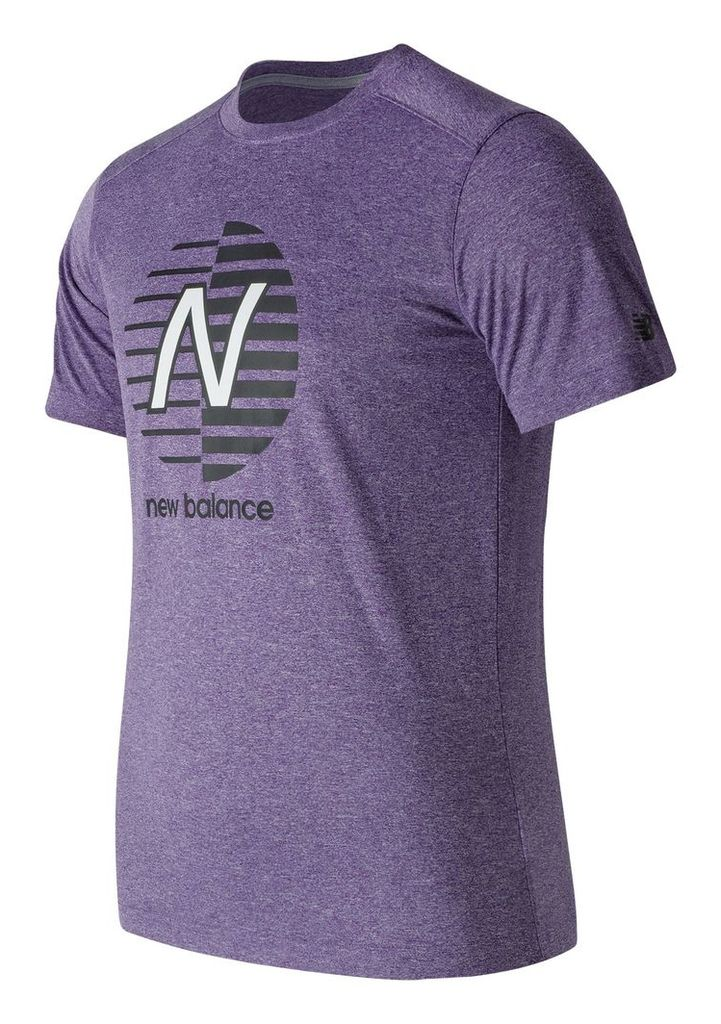 New Balance Heather Graphic Tee Men's Casual MT71091BPH