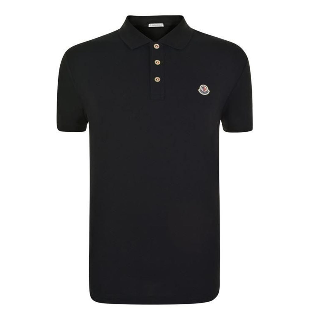 MONCLER Short Sleeved Polo Shirt