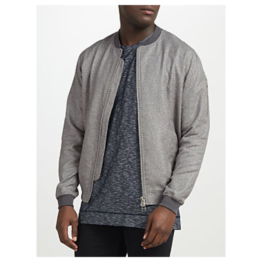 Libertine-Libertine Fever Bomber Jacket, Grey