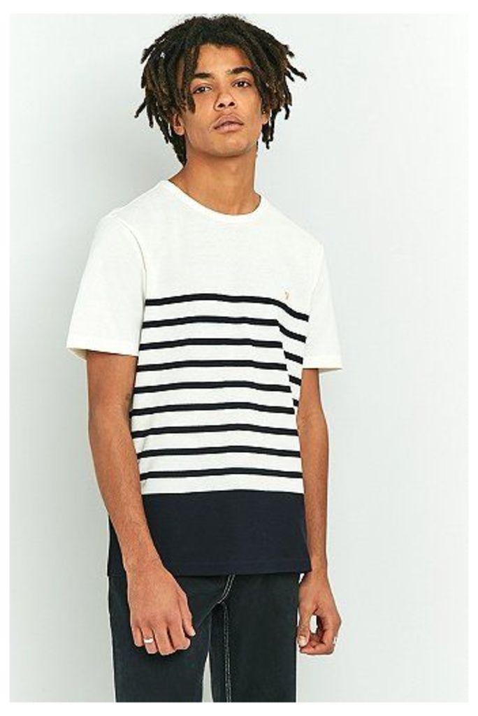 Farah Hampstead Stripe T-shirt, Navy