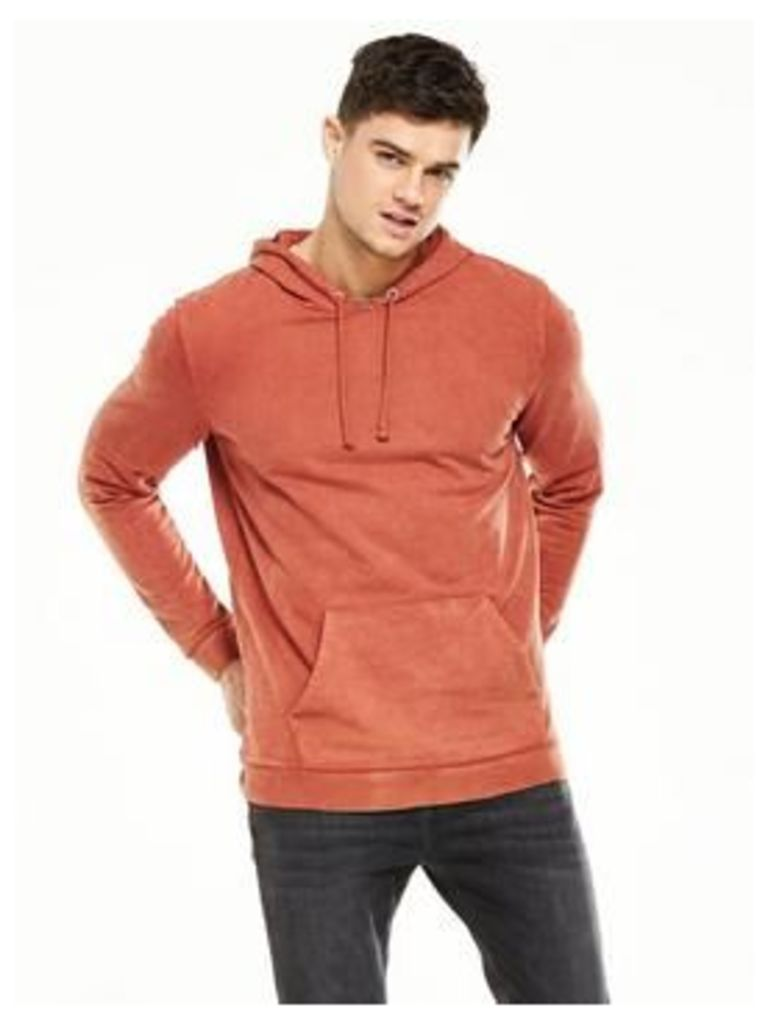 V By Very Oversized Garment Washed Hoodie Sweat Top
