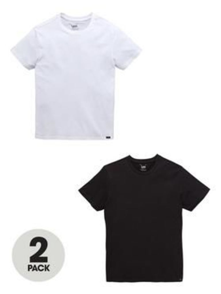 Lee Twin Pack Mens T-Shirts