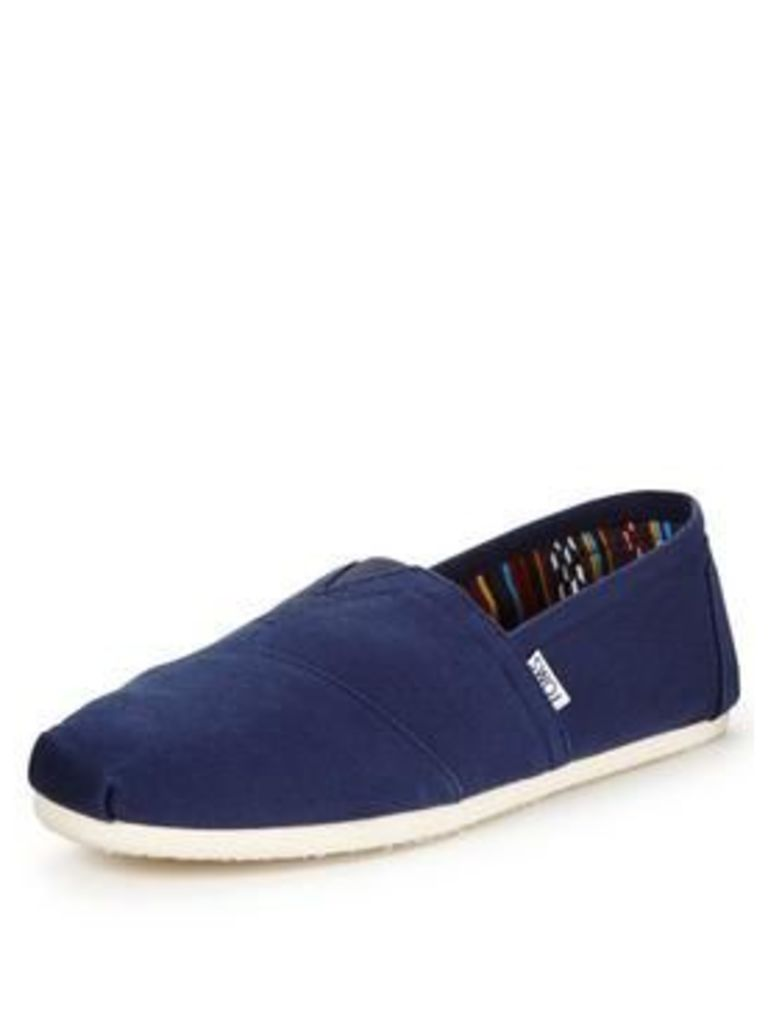 Toms Classic Slip On Shoe - Navy