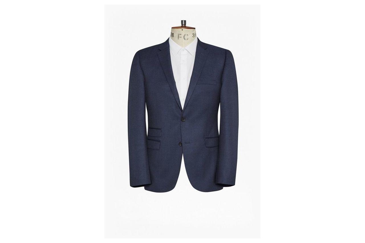 Bright Blue Milled Jacket - bright blue