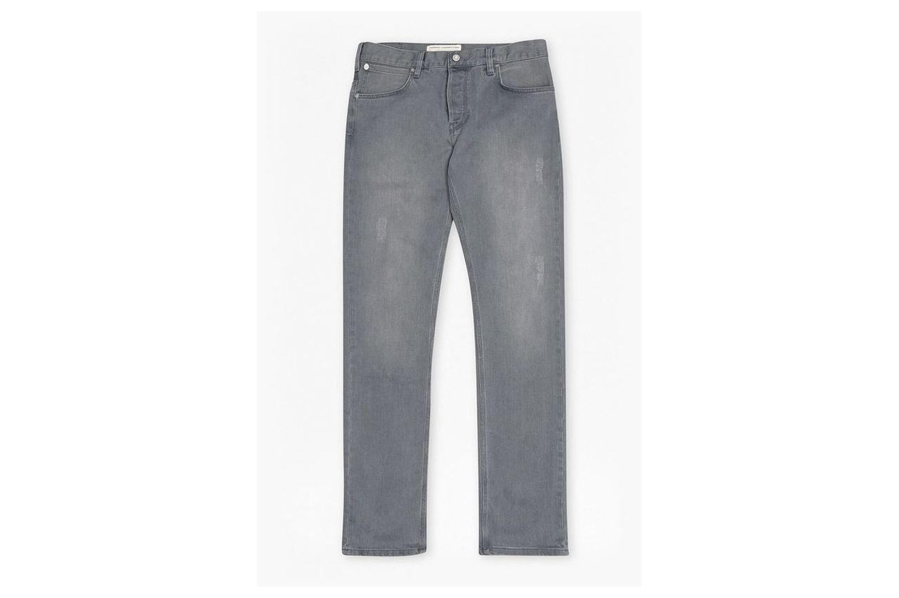 Simpson Denim Slim Leg Jeans  - grey