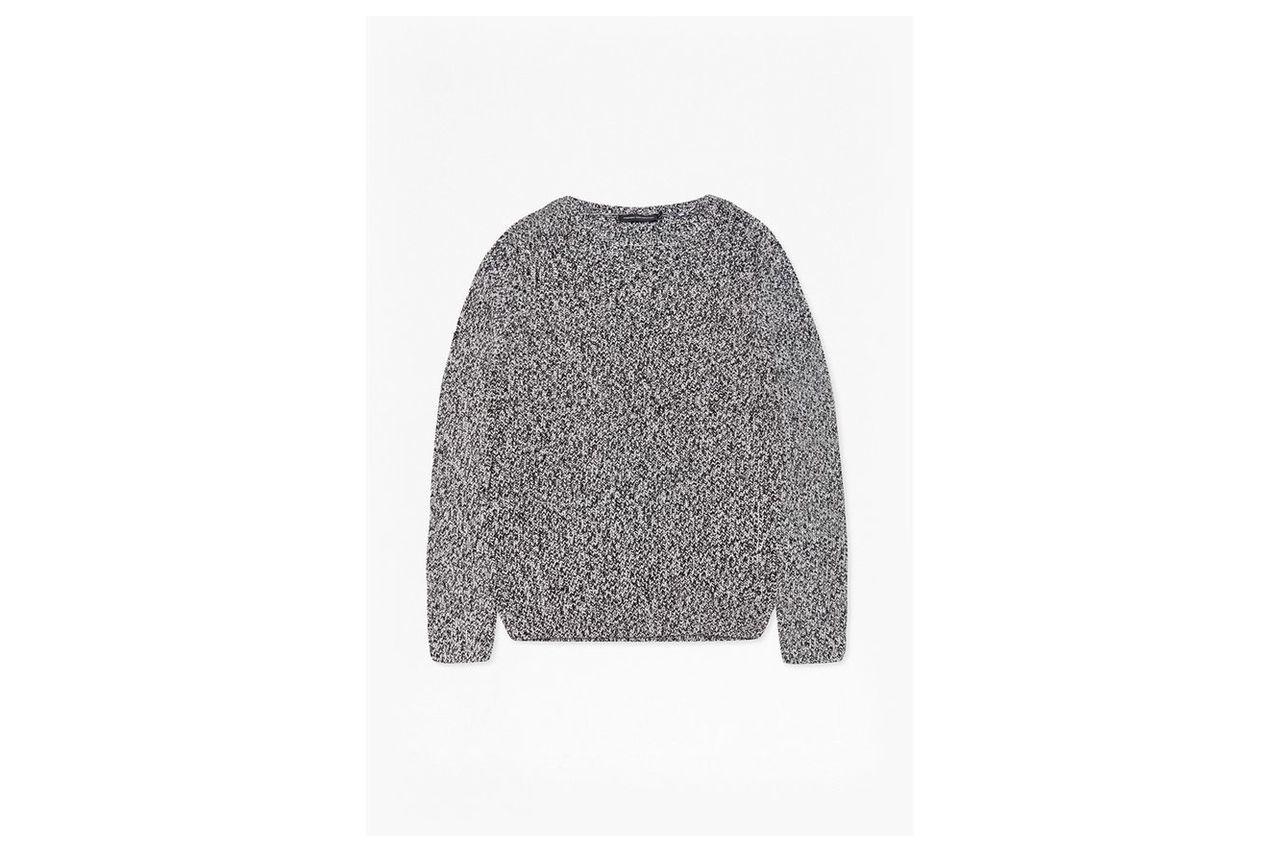 Ska Knitted Jumper  - black/white
