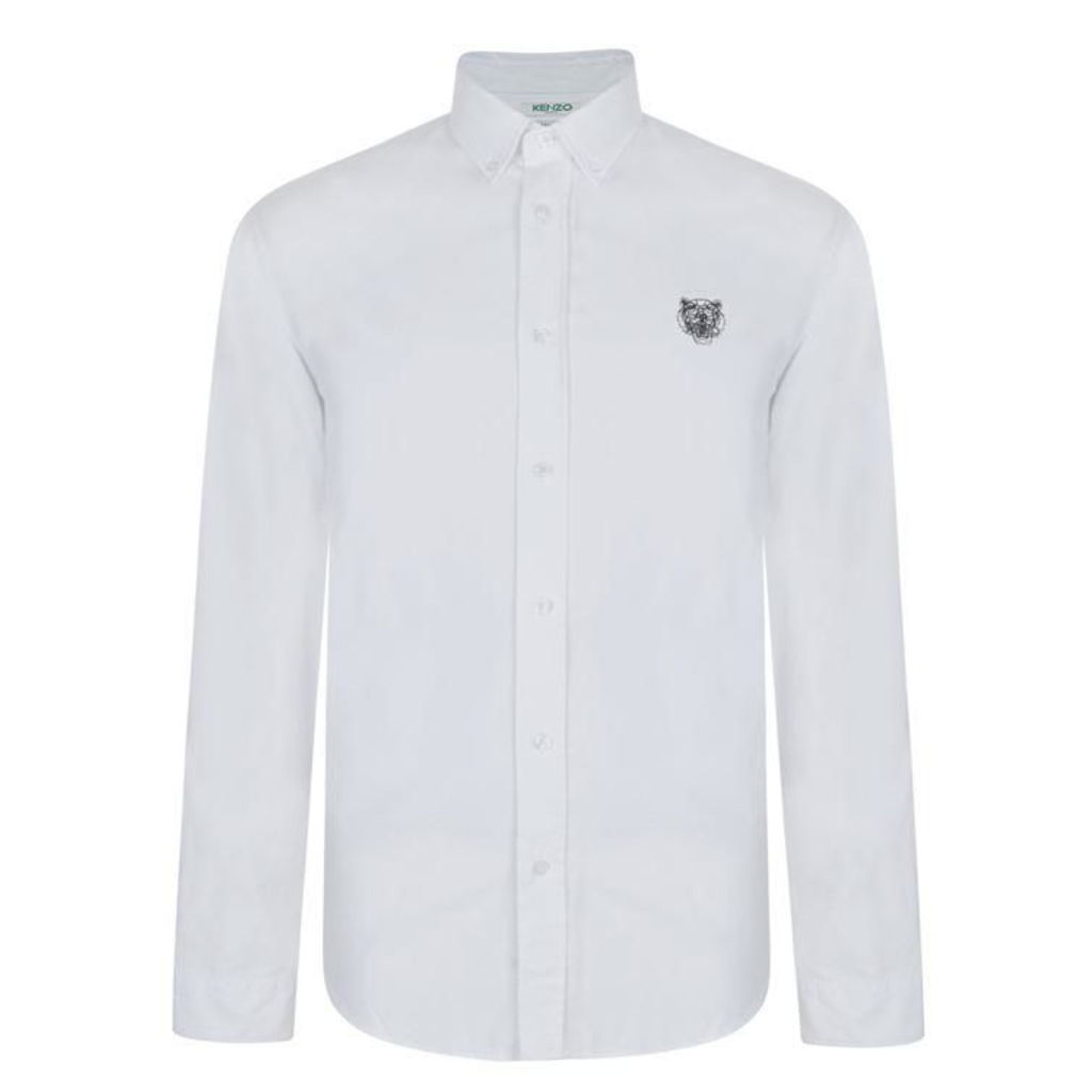 KENZO Oxford Tiger Shirt