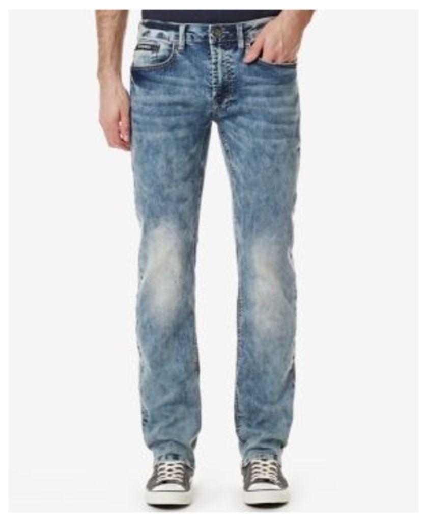 Buffalo David Bitton Men's Six Slim Straight Fit Jeans