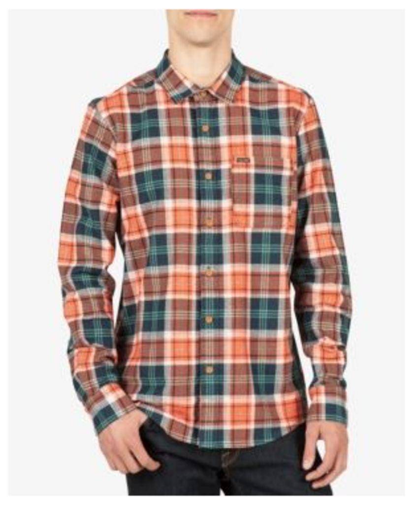 Volcom Men's Hayden Flannel Cotton Shirt
