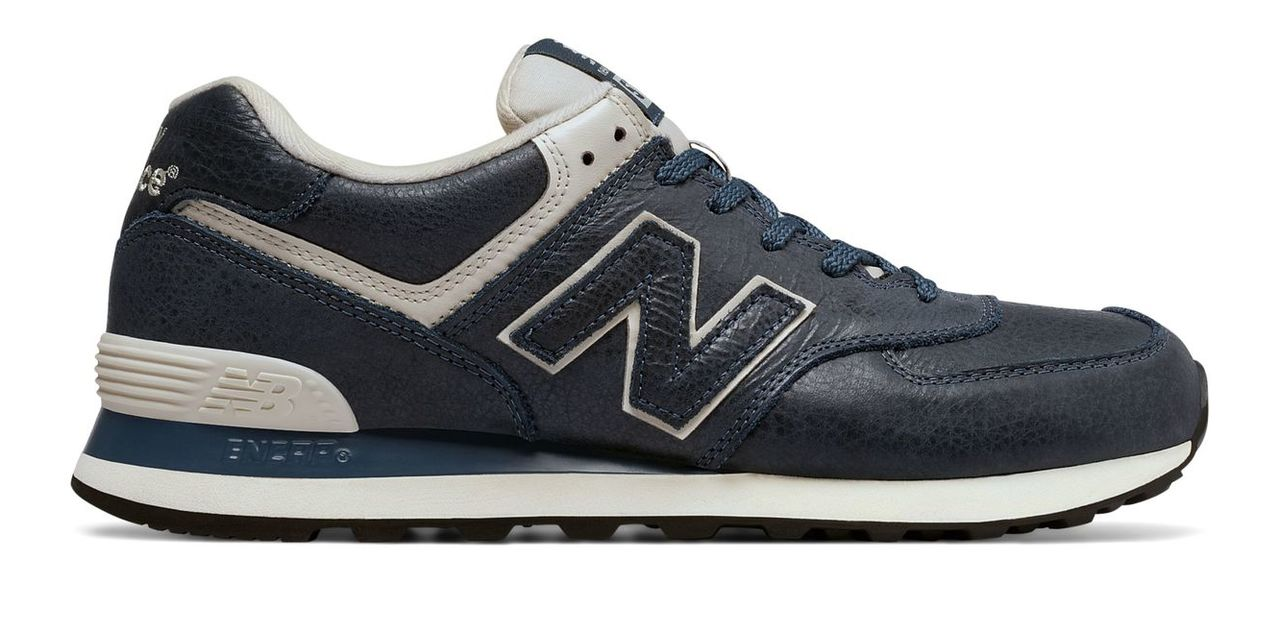 New Balance 574 Leather Men's Footwear Outlet ML574LUB
