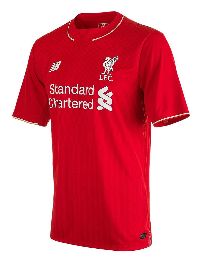 New Balance LFC Mens Home SS Jersey Men's Liverpool FC Kit WSTM542N