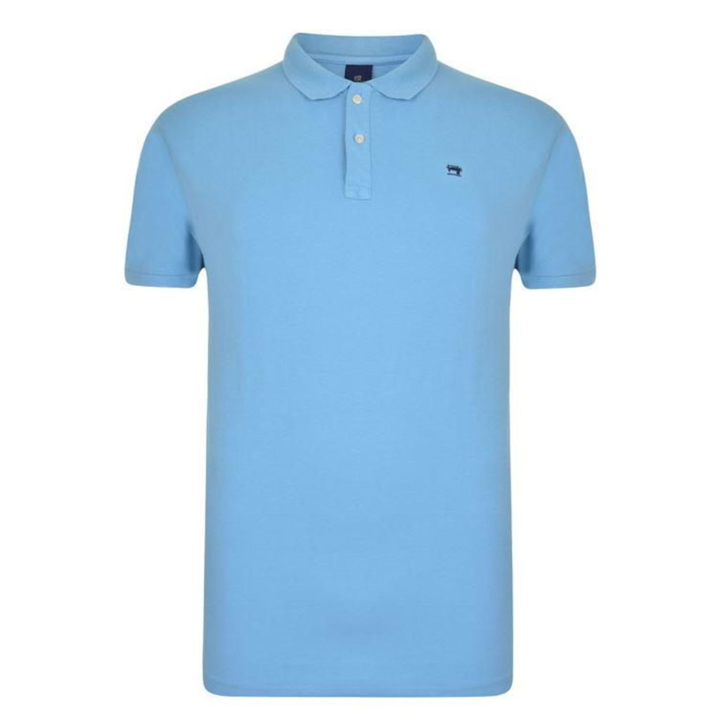 SCOTCH AND SODA Pique Polo Shirt
