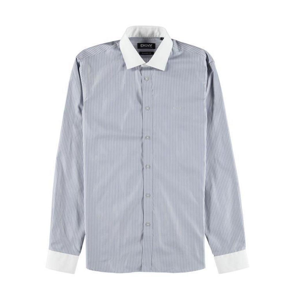 DKNY Striped Cotton Shirt